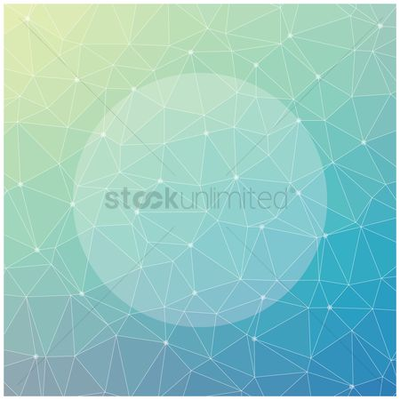 Copyspaces : Faceted background