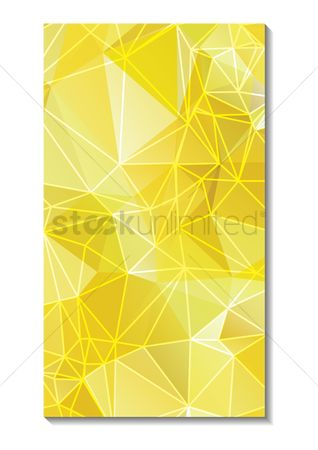 Mobile wallpaper : Faceted wallpaper for mobile phone