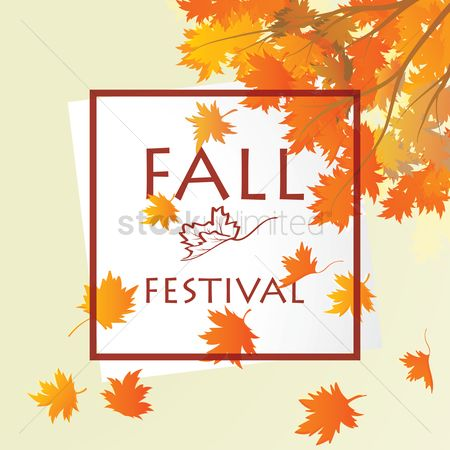 Commercials : Fall festival design