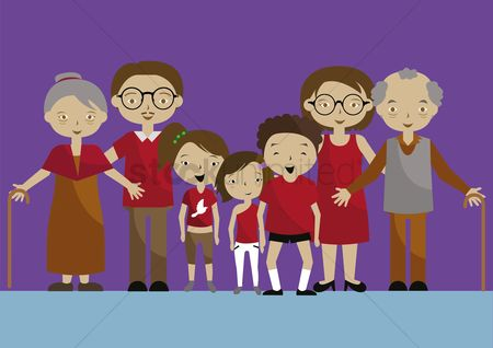 Grandparent : Family with grandparents