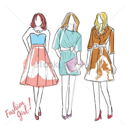 Clothings : Fashion model designs