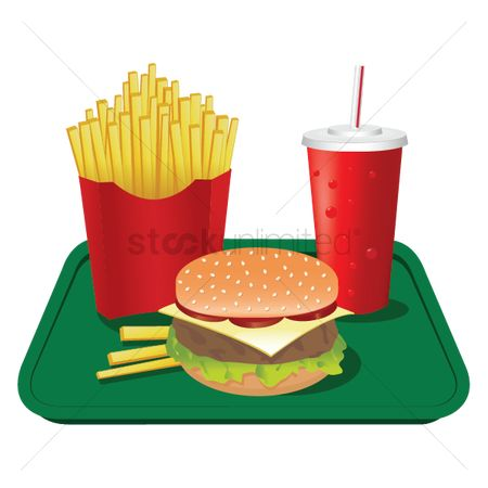 French fries : Fast food set