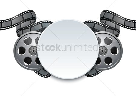 Photography : Film reel background