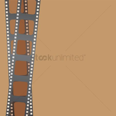 Borders : Film strip background