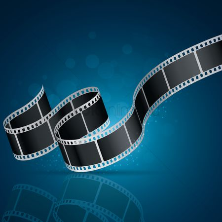 Photography : Filmstrip background