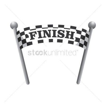 Race : Finish line