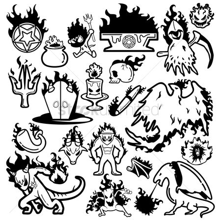 Devils : Fire breathing creatures collection