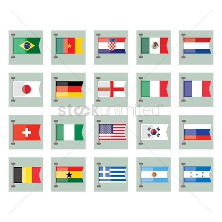 England : Flags