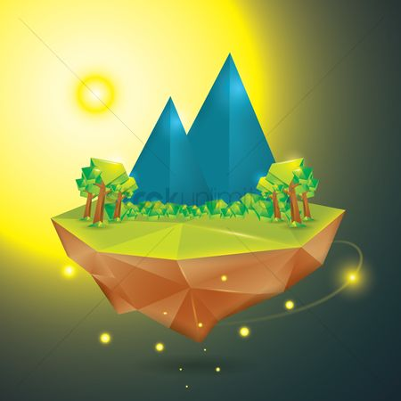 Sunray : Floating island