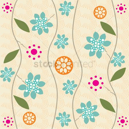 Textures : Floral background