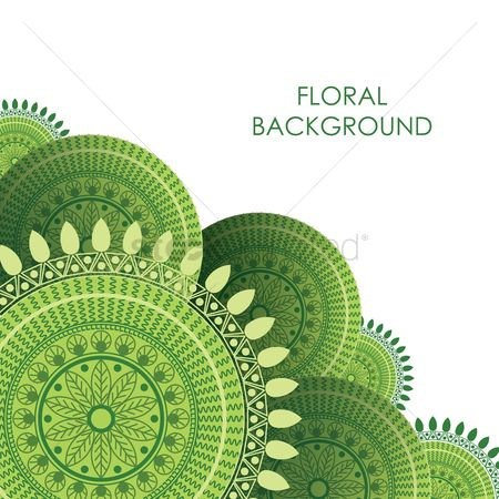Drawings : Floral background