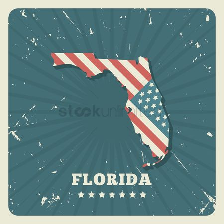 Oldfashioned : Florida map