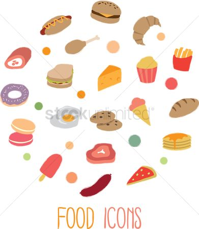 Macaron : Food icon collection