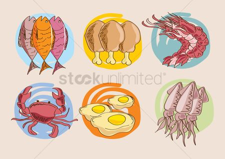Crabs : Food items