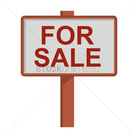 Signages : For sale signage