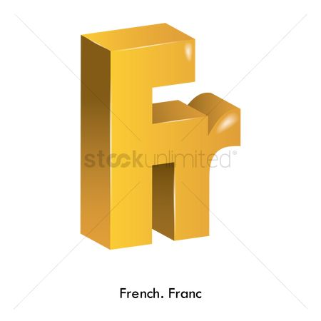 Free French Franc Symbol Stock Vectors Stockunlimited