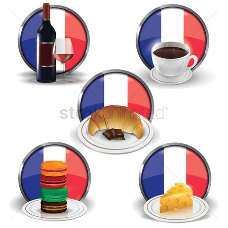 Tricolored : France food and drink collection