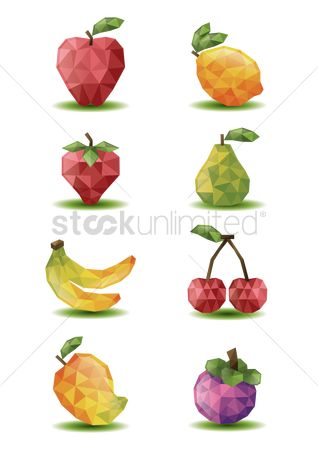 Mangoes : Fruit icons