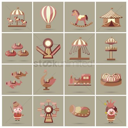 Tents : Funfair collection