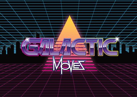 Vintage : Galactic moves design