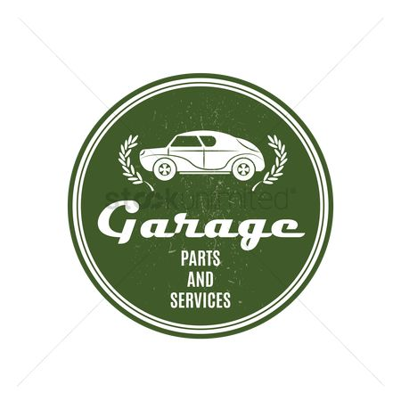 Oldfashioned : Garage sign
