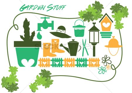 Drippings : Garden items