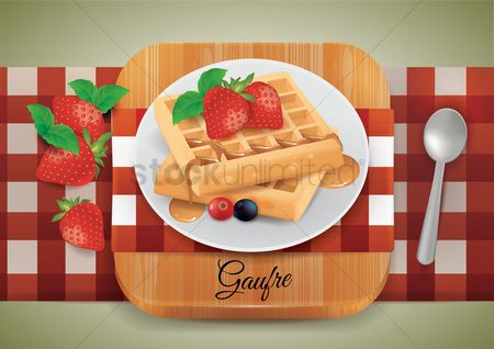 Grapes : Gaufre