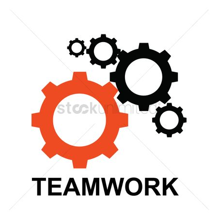 Success : Gears for teamwork