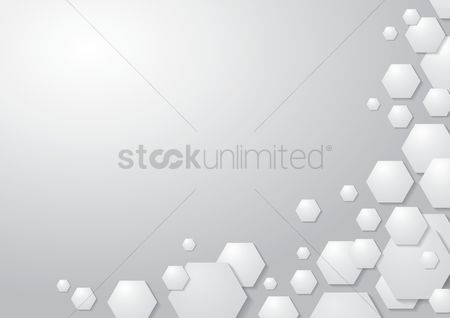 Geometrics : Geometric white background