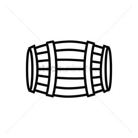 Pub : German beer barrel