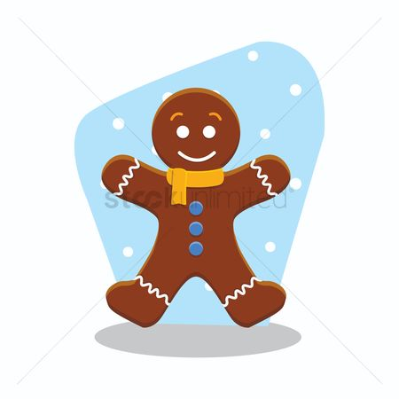 Biscuit : Gingerbread man