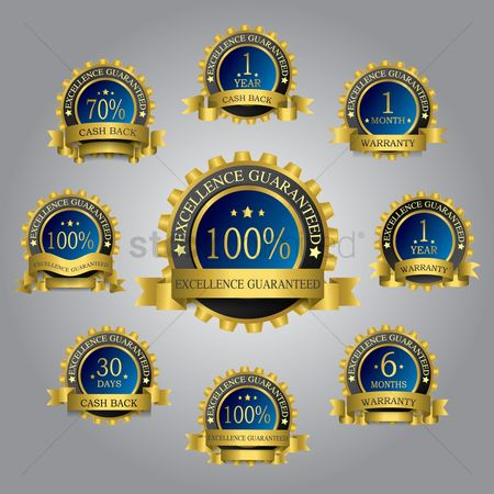 Medal : Golden label collection