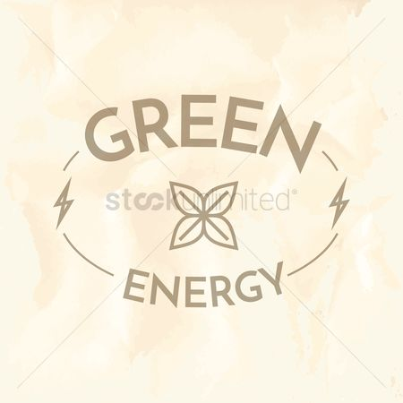 Lighting : Green energy label