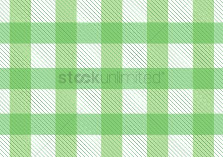 Cloth : Green pattern picnic tablecloth