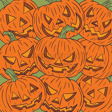 Jack : Halloween pumpkin background