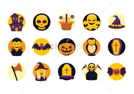 Jack : Halloween themed vectors