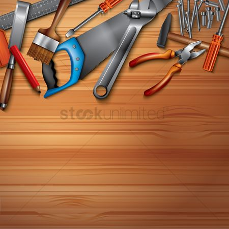 Screwdrivers : Handyman work space