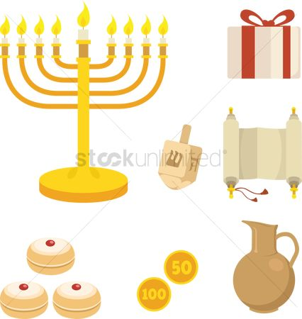 Vintage : Hanukkah items