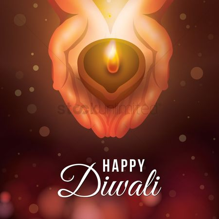 Lighting : Happy diwali design