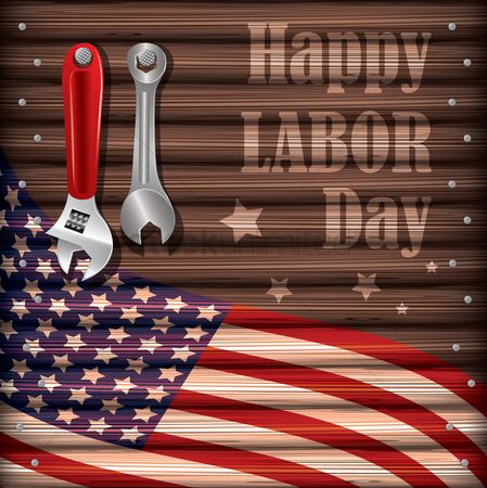 Patriotic : Happy labor day