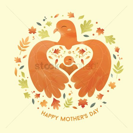 Chicken : Happy mothers day card