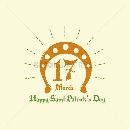 17 : Happy saint patrick s day design