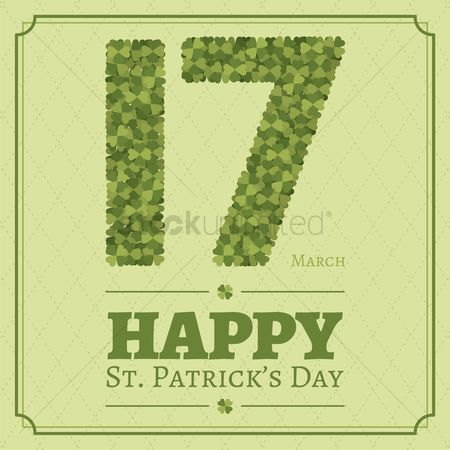 17 : Happy st patricks day