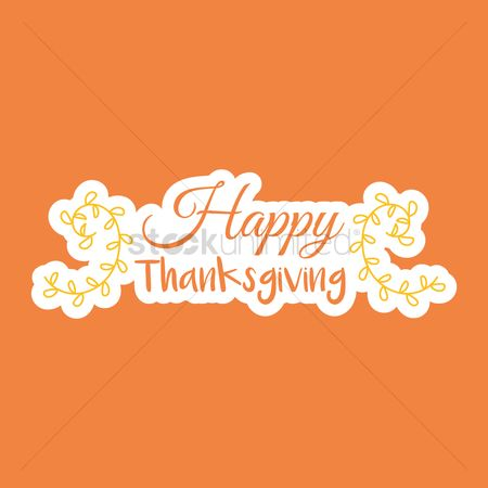 Thankful : Happy thanksgiving design