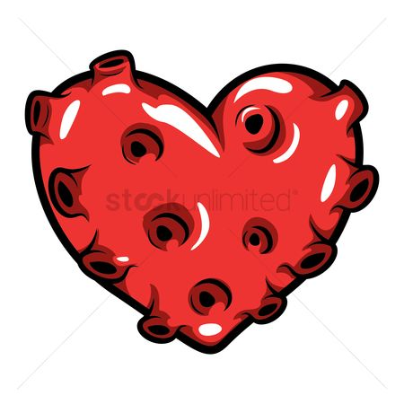 Heart : Heart with holes