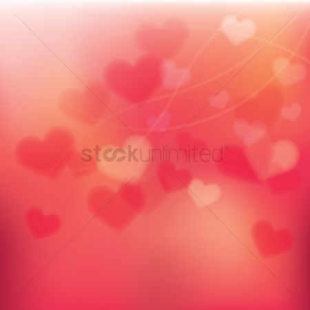 Vectors : Hearts background