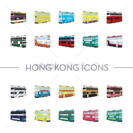 Tram : Hong kong icons