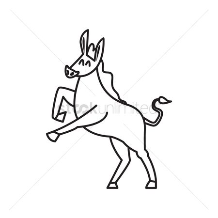 Free Stallion Stock Vectors