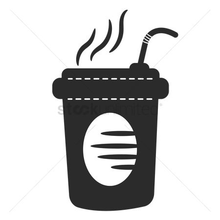 Disposable cup : Hot drink