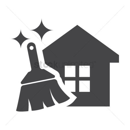 Broom : House chores icon